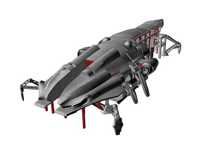 Spaceship Playground Castel Romano