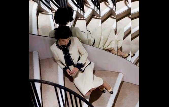 Escalier pour le film Coco Avant Chanel
