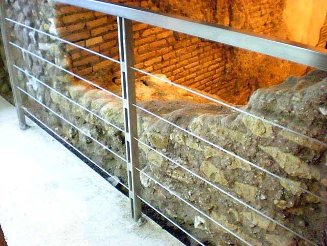 Ringhiere Sito Archeologico Ex Cinema Trevi – Roma