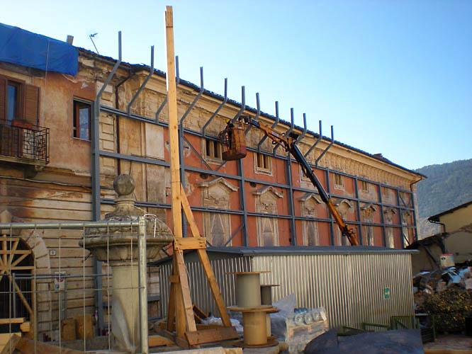 Messa in sicurezza edificio – L'Aquila